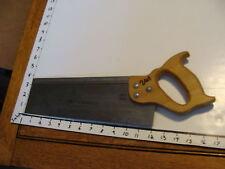 Vintage SAW: RED DIAMOND BACK SAW, 12 inch blade.
