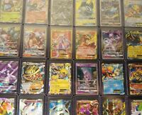 Pokemon TCG: 1 RANDOM GX, EX, Lv. X, Prism, V, or Break CARD Pokemon Cards- ABC