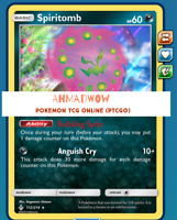 spiritomb Unbroken bonds 112/214 - Pokemon TCG Online - PTCGO