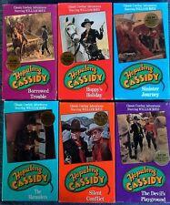 HOPALONG CASSIDY - (6) VHS TAPES - BUENA VISTA HOME VIDEO - STILL SEALED