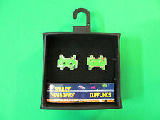Space Invaders Cufflinks. 50 Fifty. New In Package.