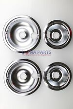 GE Drip Pans for Electric RanGEs (4-Pack)- GE68C PS220423