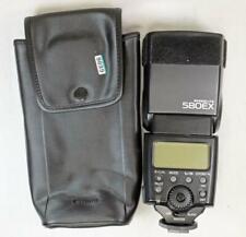 Canon Speedlite 580EX Professional Flash w/ Case & Foot - MUST READ! (6606)