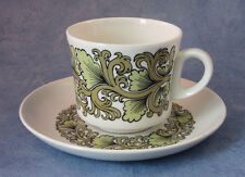 ARABIA OF FINLAND, Hermes , Vintage, Coffee Cup & Saucer, Very Good Condition