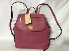 Michael Kors Backpack Bedford Zip Leather Large Backpack Tulip NWT $348