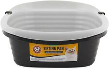 Pet Mate Arm & Hammer Large Sifting Litter Box Pan For Pets Cats Clean Up Easy.