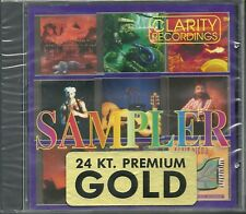 Clarity Recordings Sampler Various Artists 24 Karat Gold CD Neu OVP Sealed OOP