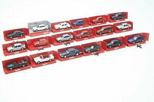 Herpa Interssante Collection Cars H0 1:87 BMW, Jaguar, Vauxhall, Audi Boxed