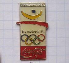 COCA-COLA / OLYMPISCHE SPIELE BARCELONA 1992 ............. Pin (125g)