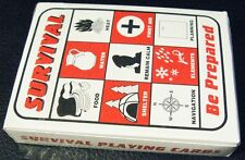 Survival Playing Cards Shtf Gear Prepper Supplies Bug Out Bag 72 Hour Kit Items