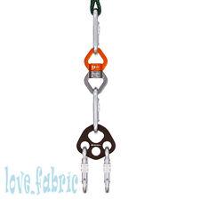 GM Aerial Dance Basic Kit for Trapeze Hammock Lyra Swivel+Carabiner+Anchor Plate