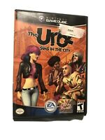 The Urbz: Sims in the City (Nintendo, GameCube, 2004) Case & Disc