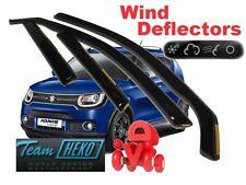 Suzuki IGNIS II 2016 - 5.doors Wind deflectors 4.pc set HEKO 28654