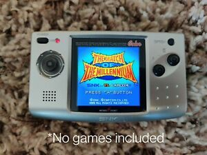"Neo Geo Pocket Color **SLIM model** + 2.6"" Full Size IPS LCD"