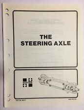 Hyster - The Steering Axle Manual Part Number 897120 - Free Shipping!!