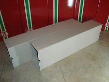 LGB 40540 SERIES LONG FLAT CAR BACK OPENING OUTER CARDBOARD BOX SLEEVES 2 PIECES