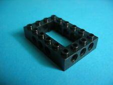 Lego Technik technic 32531 Lochrahmen Stein Lochkranz schwarz 4x6  7905 10179