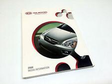 2008 Kia Rio Spectra Optima Amanti Sportage Sorento Sedona Press Kit Brochure