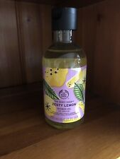 THE BODY SHOP SPECIAL EDITION ZESTY LEMON SHOWER GEL 250ML RARE SOLD OUT NEW