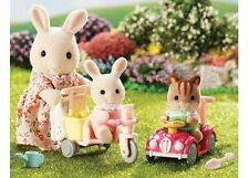 Sylvanian Families =Babies Ride and Play Set=  NEW miniature toy model tricycle