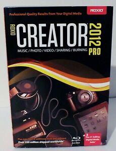 Roxio Creator 2012 Pro DVD, Very Good, Boxed