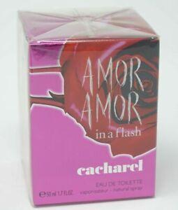 Cacharel Amor Amor In a Flash Eau de Toilette Edt 50ml Spray