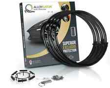 """AlloyGator Exclusive Alloy Wheel Protection Protector Set of 4 BLACK 12"""" to 24"""""""