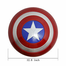 PVC The Avengers Kids Gift Captain America Light Shield Superhero Figure Model