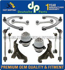 PORSCHE CAYENNE Control Arm Ball Joint Tie Rod ENGINE MOUNT SUSPENSION KIT 12 Pc