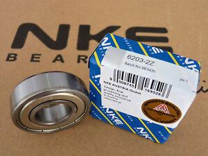 Rillenkugellager / Deep Groove Ball Bearings  6203-2Z NKE [17x40x12]