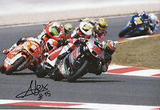 Alex De Angelis Hand Signed 2014 Moto2 Tasca Racing Suter 12x8 Photo 4.
