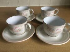 Denby Tivoli 4 x Cups and Saucers