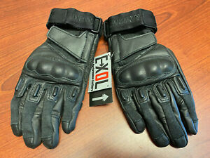 Blackhawk S.O.L.A.G HD Gloves w/ Kevlar Black Medium 8151MDBK
