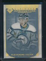 2019-20 Upper Deck Ultimate Introductions RC UI-65 Alexandre Texier