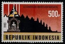 Indonesia postfris 1983 MNH 1088 - Restauratie Borobudur