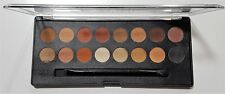 Technic Pro Finish Eye Shadow Palette Toffee Edition 16 Warm Brown Shades