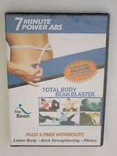 Total Body Bean Blaster 7 Minute Power Abs DVD + Pilates-Lower Body-Workouts