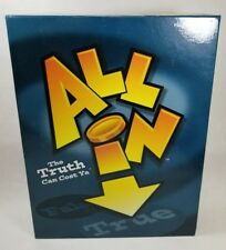 All In - The Truth Can Cost Ya, Trivia Adult 17+ Board Game, new, sealed