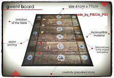 GWENT GAME BOARD WITCHER 3 HEARTS OF STONE BLOOD AND WINE PLAYING SURFACE PVC