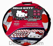 Winshield Sunshade Hello Kitty Auto Spring shade Universal Block 99% Uv 2pc pack