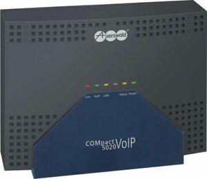 AUERSWALD COMpact 5020 VoIP [Hybrid]  ! SONDERPREIS !  GEPRÜFT+ GEWÄHR ; MWSt.