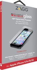 ZAGG iPhone se/5/5 S/5 C scudo invisibile Specchio Vetro Protezione Schermo