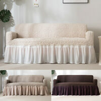 Sofa Couch Slipcover Stretch Covers Jacquard Elastic Fabric Settee Protector Fit
