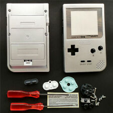 GBP Nintendo Game Boy Pocket Replacement Housing Shell Screen Silver USA!
