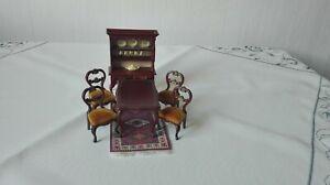 Lundby Puppenhaus; Möbel für Speisezimmer