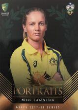 2017 Tap n Play ... The ASHES ... PORTRAITS.. Australia Women's.. MEG LANNING