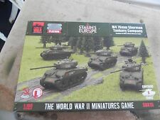 Flames of war Russian SBx15  M4A2 76mm Sherman Company