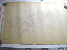 ROMA Mappa Catastale n. 548 PITAGORA TAVERNA ROSSINI ULISSE MERCATI  1943 c.