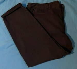 Ladies M & S Collection Chino's. Brand New. Blue. FREE P+P. RRP £25. Size 24