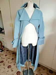 "Vintage theatrical frock coat Royal Opera House Regency style pale blue 38"" Luke"